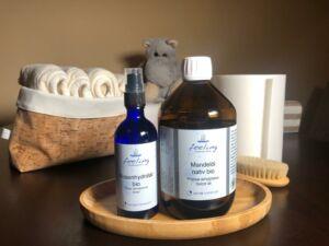 Rosenhydrolat & Mandelöl | Baby's erste Pflege